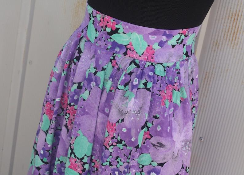 3c62a75b49 Vintage Lavender Skirt Pastel Goth Skirt 90s Grunge Skirt | Etsy
