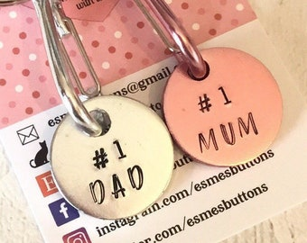 Father's Day gift, Personalised Trolley token, Hand Stamped ,shopping gift, gift for him, gift for her, uk seller