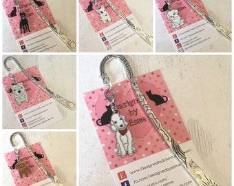 Dog breed bookmarks, Bedlington, Doodle dog, English Bulldog, Schnoodle, Bichon Frise, Cane Corso,