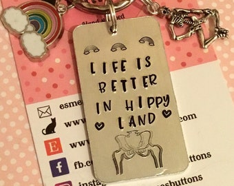 Hip replacement gift, hippy land, new hip, hip surgery, hip operation, new hip for her, new hip for him, double hippie,
