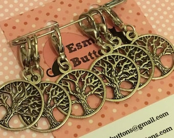Celtic stitchmarkers, treeof life, Stitch markers, gift for crocheter, crochet gift, UK seller, gift for him, gift for her