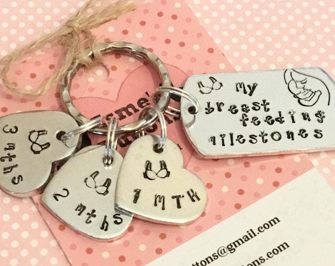 Breastfeeding gift, new Mum breastfeeding, new baby, new Mum gift, Hand Stamped gift, Gift for new Mum,