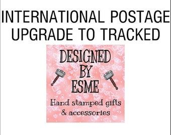 Internationational upgrade to have your order come tracked.
