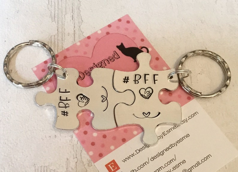 BFF gift gift for parting friends end of school end of uni image 0