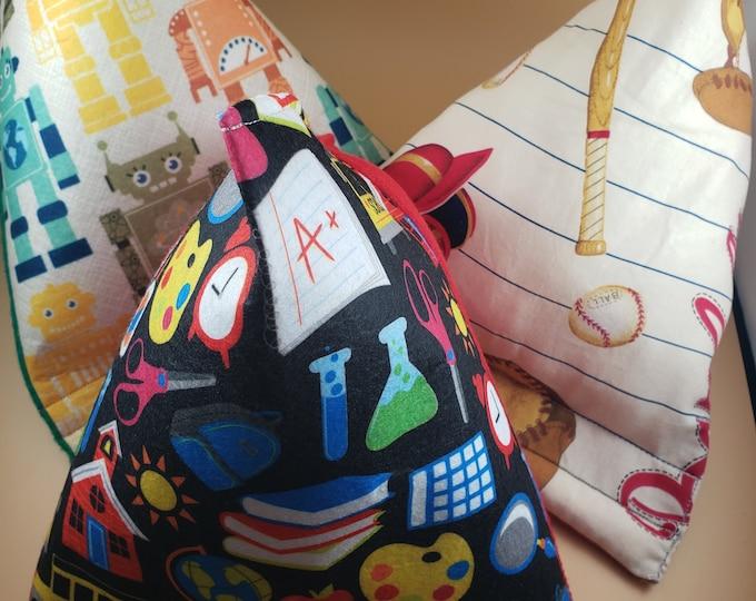 New Sale Kids School Felt Fabric Phone Pillow Stand, Baseball Fabric Phone Pillow, Robot Felt Phone IPad Pillow, Student Phone Pillow