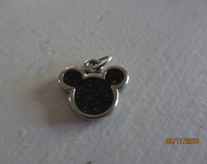 Sale Petite vintage Onyx Signed Mattel Mickey Mouse Pendant Charm, Collectors Vintage mickey Mouse Charm