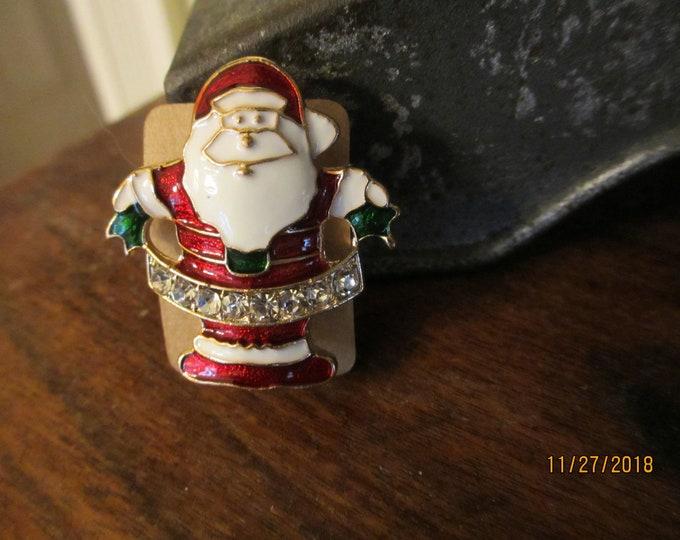 New Colorful Enamel Santa Clause Pin Brooch, Santa Pin, Christmas Santa Pin
