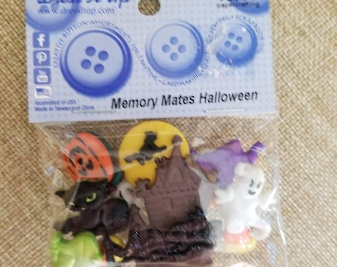 Fall Sale Halloween Buttons, Dress it Up Halloween Buttons, Ghost Button, Black Cat Button, Haunted Mansion Button, Pumpkin Button