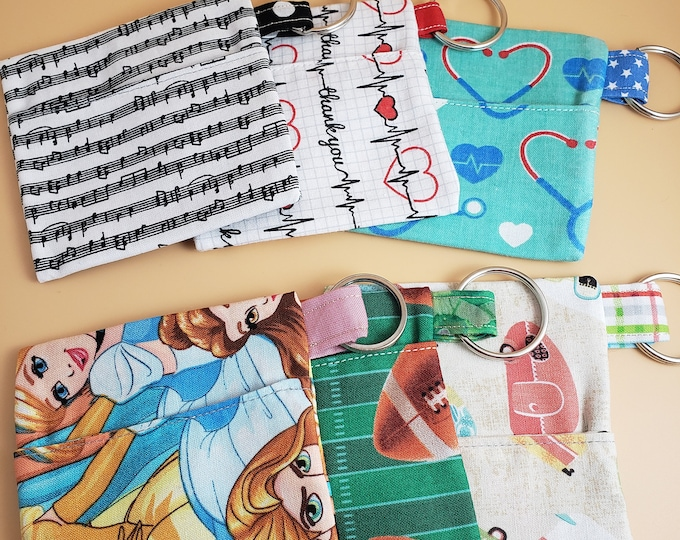 New Earbud Pouch, Face Mask Keychain Pouch, Mask Pouch, Face Mask Holder, Sanitizer Pouch, Student Face Mask Pouch, Children Face Mask Pouch