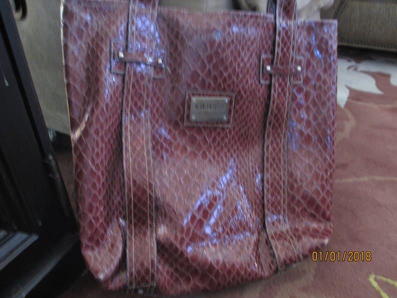 0b6279d29db3 Unique Purple Guess Tote Bag Guess Laptop Bag Guess Travel