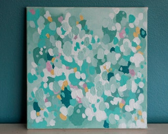 "SALE Original 10x10 Painting ""Spring"" FREE SHIPPING"