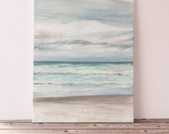 """Original 18x24 Painting """"Rolling Tide"""" FREE SHIPPING"""