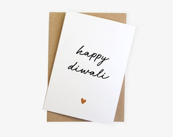 Happy Diwali Modern Hindu Festival Greetings Cards