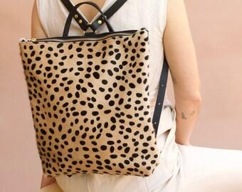 The Nico Backpack// Cheetah