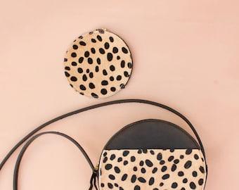 The Audrey Pouch// Cheetah