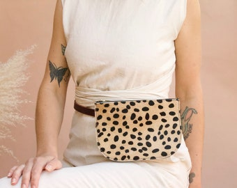 The Millie Fanny Pack// Cheetah