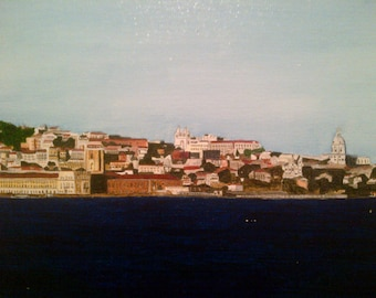 Lisbon - view from tagus river