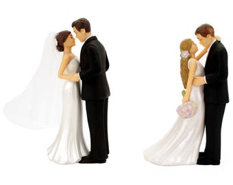 297ebb86f0 Wedding Cake Topper Bride and Groom Decorations Romantic Supplies