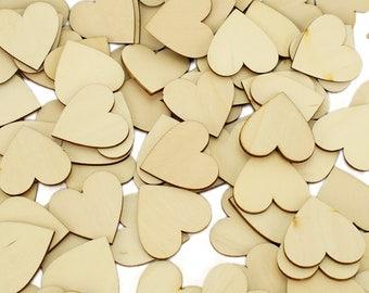 Wooden Love Hearts Shaped Wedding Guest Book Alternative Dropbox Signature Message Drop Box