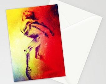 "Artwork Greeting Card  ""Feral"""
