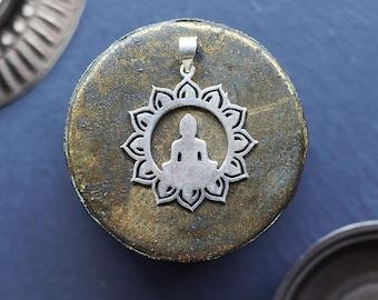 Buddha Pendant, Meditation During, Spiritual Jewelry, Yoga Jewellery, Buddha Pendant, Meditation Pendant, Spiritual Jewelry, Yoga Jewelry