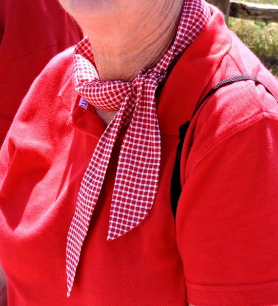 0890875802e Gel Neck Cooler Stay COOL Tie Bandana Wrap Body Head Heat | Etsy