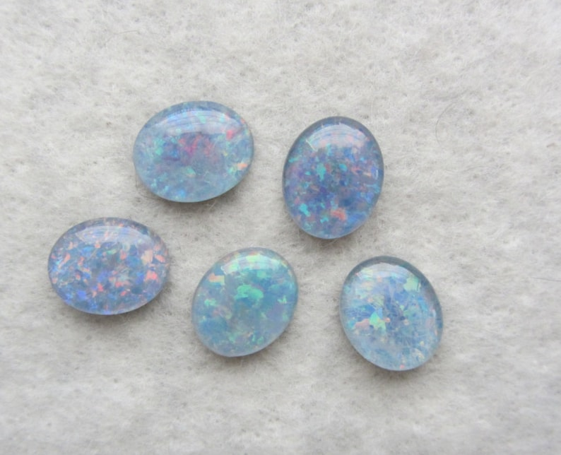 Natural Opal triplets from Australia lot of 5 stones