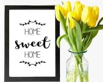 Home Sweet Home - Digital File