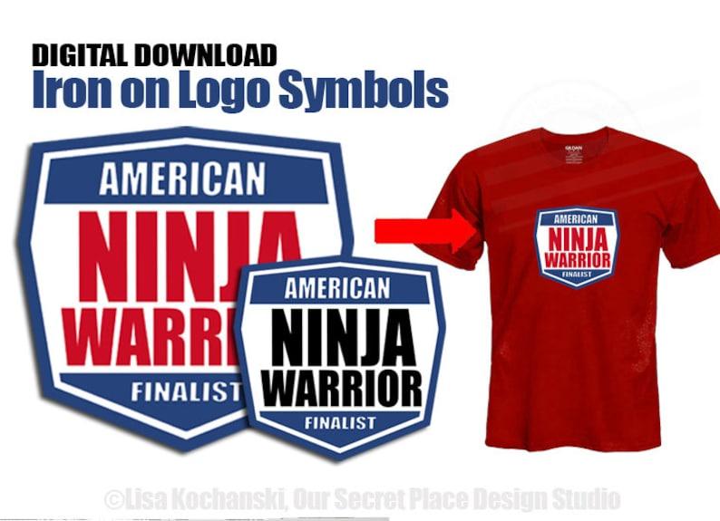 f3be43c3d INSTANT DOWNLOAD American Ninja Warrior Party American Ninja | Etsy