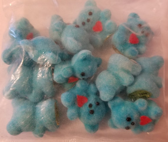 """Lot 50 Blue Plastic Safety Pins 1-1//2/"""" Miniature Baby Shower Table Decorations"""