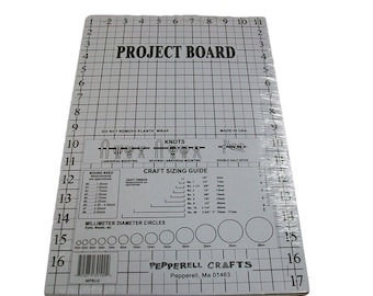 Macrame Knotting Cork Project Work Board with Grid and T-Pins
