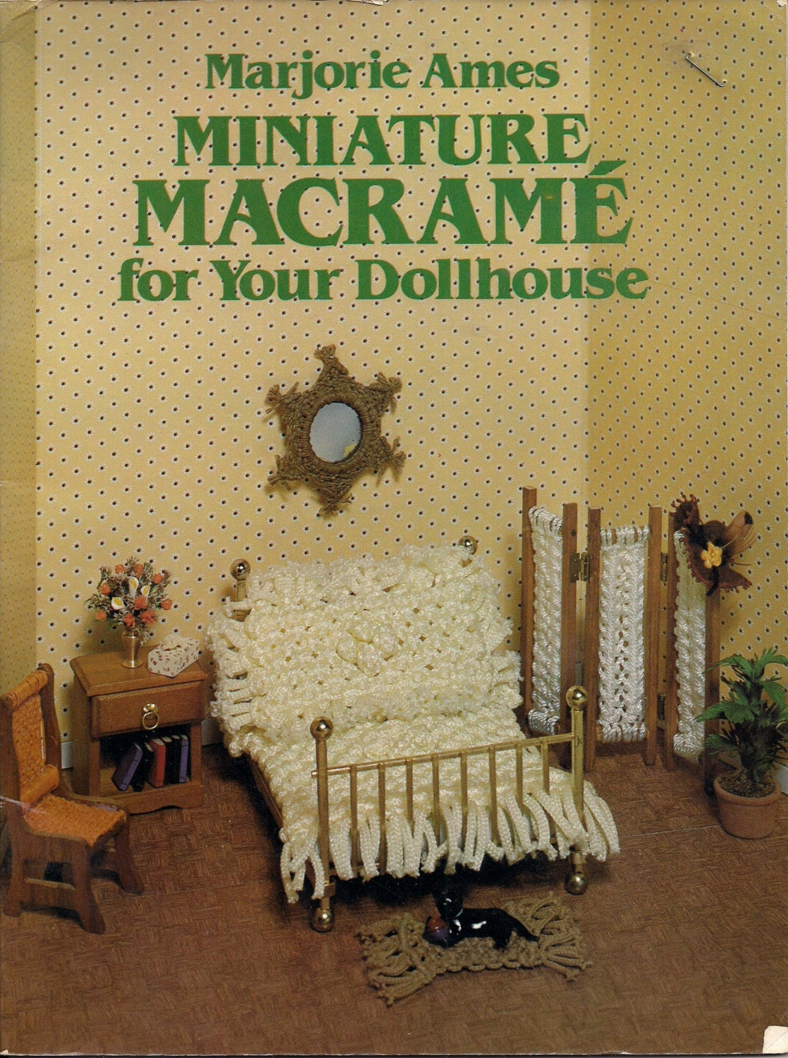 Craft Book: ISBN 0-486-23960-8 Miniature Macrame for Your | Etsy