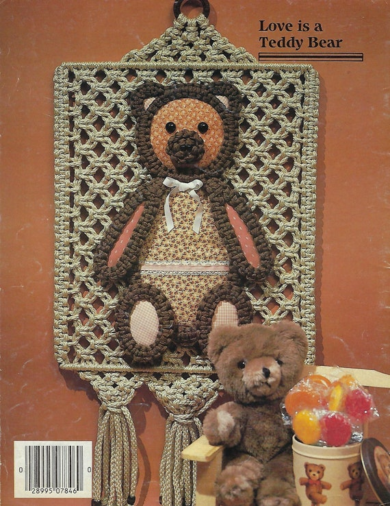 #PD1121 Macrame Things in Rings Over 25 Patterns Craft Book