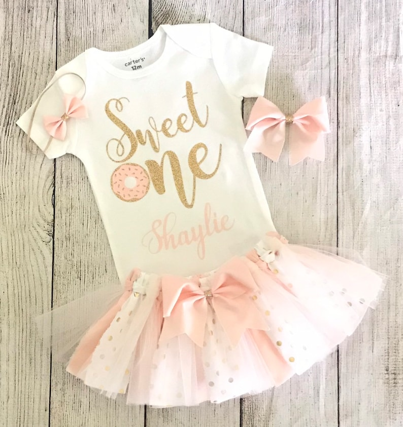 Sweet One Birthday outfit