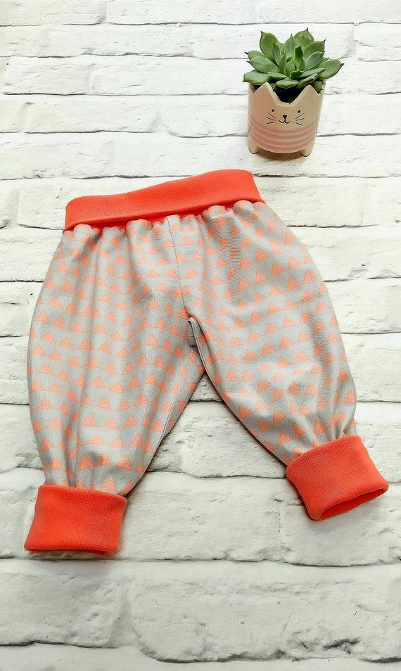 Bebé Bebés Pantalones Con Pies pands 100/% algodón 6-9 meses