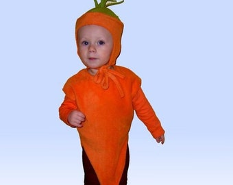 Children's Costume MÖHRE Carrot Costume Costume for Carnival and Carnival Carnival Costumes for Children