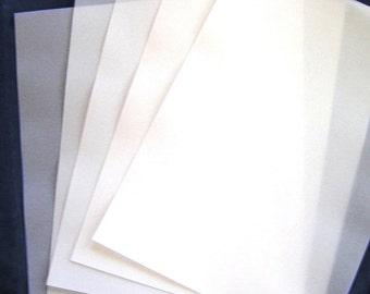 112 gsm VELLUM  A4  (20) 297x210mm Translucent Paper Scrapbooking Weddings  Invitations