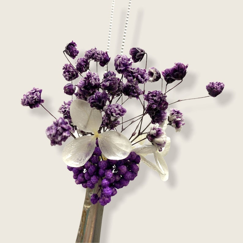Necklace Fork Silver Flowers Silverware