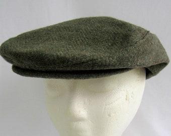 67a24e4056c Young An Cap Vintage Cabbie Hat Wool Newsboy Caps Hats Men Snap Brim