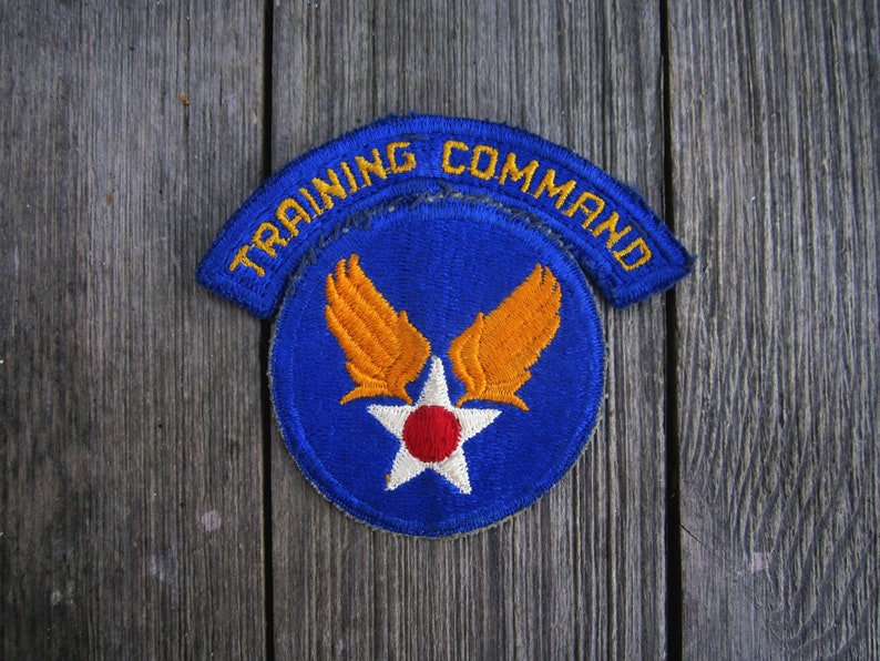 Military Patch US Army Air Forces Shoulder Sleeve Insignia Training Command  WWII