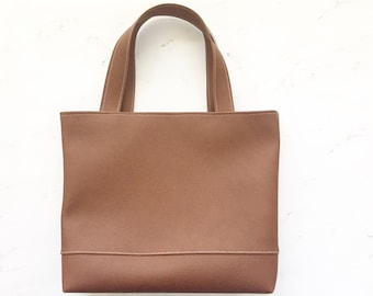 Mini Tote Bag, Market Tote, Womens Bag, Leather Bag