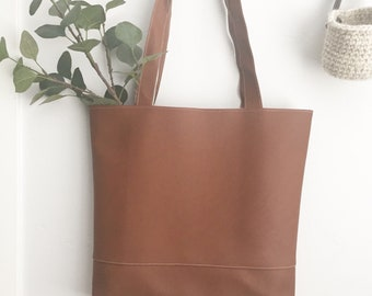 Tote Bag, Market Tote, Womens Bag, Leather Bag
