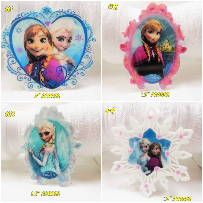 5 X Dolls Girls Flatback Planar Resin Embellishment Hair bow UK