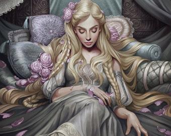 Sleeping Beauty Limited Edition Fine Art Print