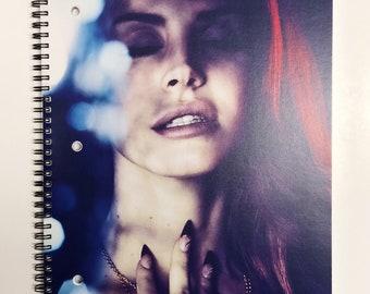 Custom Lana Del Rey Notebook ; Amor