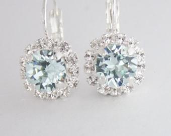 dac82e0862d420 ice blue crystal earrings