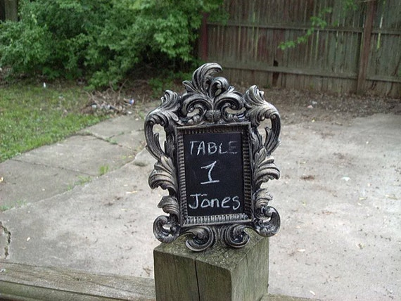 Ornate Picture Frame Wedding Table Numbers Wedding Favors 2x3 Set Of