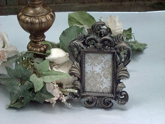 Ornate Picture Frame Wedding Table Numbers Wedding Favors 2x3 Etsy