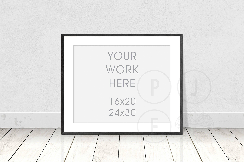 Frame Mockup Plakat Rahmen Mockup 16 x 20 24 x 30 weißen