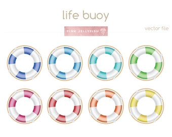 lifebuoy clipart, life buoy clipart, life ring clip art vector, png, life saver, life preserver clip art